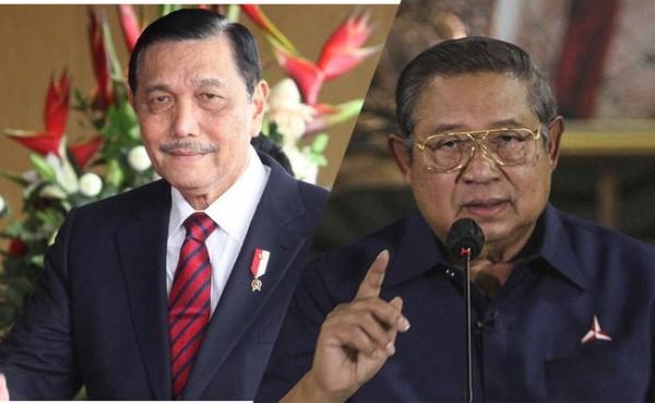 Luhut Binsar Pandjaitan dan SBY (Foto: IST)