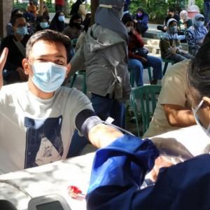 Vaksinasi Usia 12 Tahun ke Atas di Kota Kediri Dilanjutkan