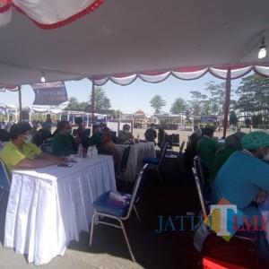 Kejar Target, Forkopimda Kabupaten Malang Gelar Vaksinasi Massal di Kecamatan Gondanglegi dan Pakis