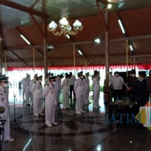 Akhirnya Bupati Bangkalan Lantik Kades Terpilih Periode 2021‐2027