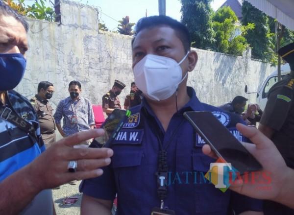 Kasubag Umum BNN Kota Malang, Yudha Wirawan (Anggara Sudiongko/MalangTIMES)