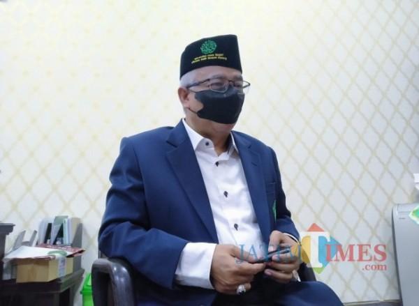 WR 3 Bidang Kemahasiswaan UIN Maliki Malang, Dr Isroqunnajah Mah (Anggara Sudiongko/MalangTIMES)