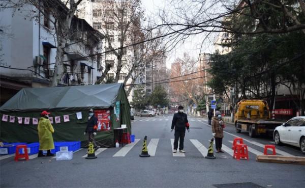China Lockdown parsial (Foto: Time Magazine)