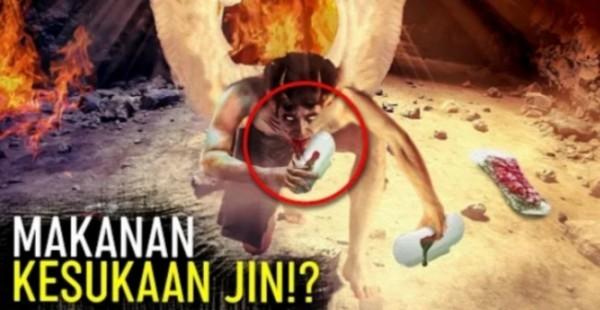 Ilustrasi jin makan darah haid (Islam populer)
