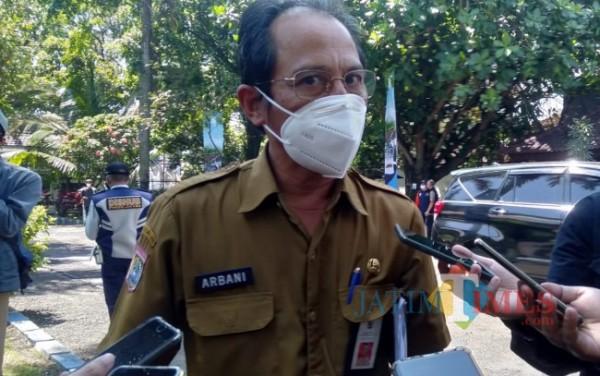 Kadinkes Kabupaten Malang drg Arbani Mukti Wibowo (foto: Hendra Saputra/MalangTIMES)