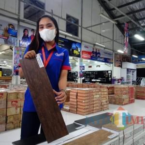 Produk Baru Granit Motif Kayu Eleganza Hadir di Graha Bangunan, Cocok untuk Segala Jenis Hunian