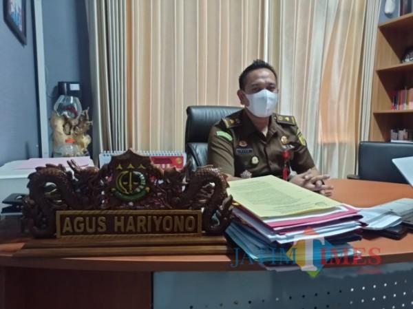 Kasi Pidsus Kejari Kepanjen, Kabupaten Malang, Agus Hariyono (foto: Hendra Saputra/MalangTIMES)