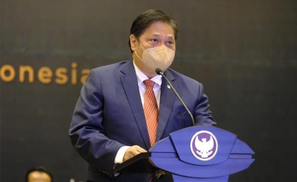 Menko Perekonomian Airlangga Hartarto (Foto: Dok Kementerian)