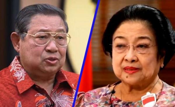 SBY dan Megawati (Foto: IST)