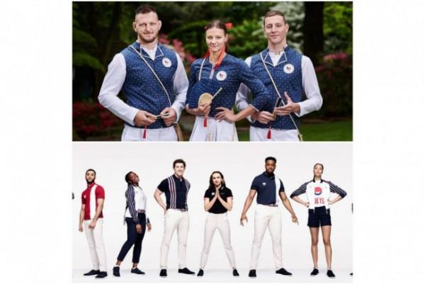 Seragam stylish di Olimpiade Tokyo 2020. (Foto: Instagram @tokyo2020).