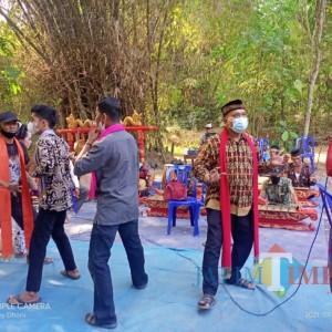 Tradisi Nyadran Dusun Gedangan Tampilkan Ledhek