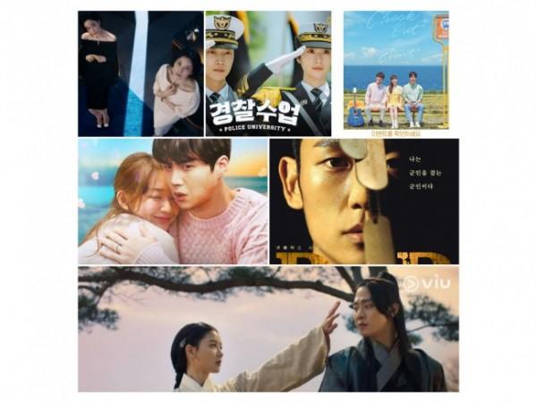 Deretan Drama Korea yang tayang bulan Agustus 2021. (Foto: berbagai sumber).