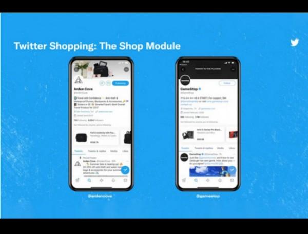 Twitter kenalkan fitur baru Shop Module. (Foto: Twitter via theverge.com).