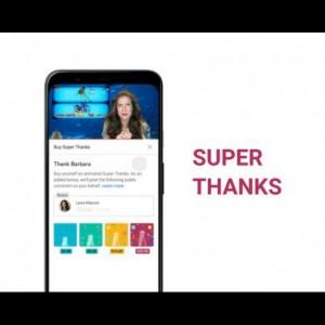 YouTube Bakal Rilis Fitur Baru 'Super Thanks', Ternyata ini Gunanya