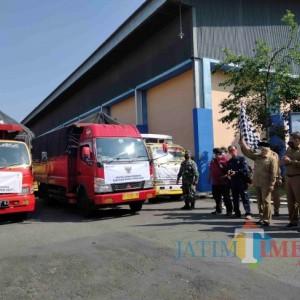 Kemensos Salurkan Bantuan 2.001 Ton Beras ke Kabupaten Malang
