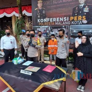 Pengusaha Properti di Malang Tipu Rekan Kerja, Ditangkap di Bandung