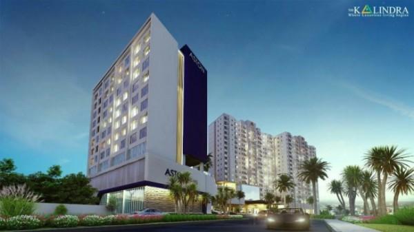 Apartemen The Kalindra yang nantinya terkoneksi dengan Hotel Aston (foto: The Kalindra)