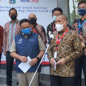 AlfaCorp Siapkan Gedung Isolasi Pasien Covid-19, Gubernur Anies Baswedan: Terima Kasih Pejuang Kemanusiaan
