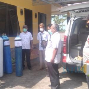 Budidaya Udang Lesu, Peternak di Jember Justru Berikan Bantuan Oksigen Gratis ke Pasien Covid-19