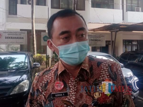 Kepala BKPSDM Kabupaten Malang, Nurman Ramdansyah.