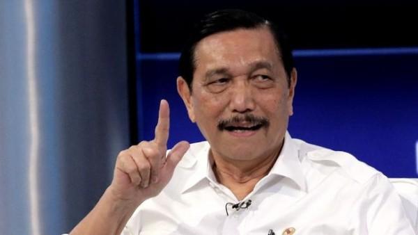 Menko Marves Luhut Binsar Pandjaitan (Foto: CNBC Indonesia)