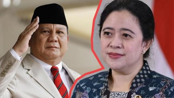 Prabowo Subianto dan Puan Maharani (Foto: IST)