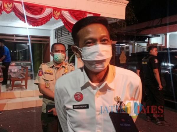 Sekda Kabupaten Malang, Wahyu Hidayat.