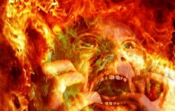 Ilustrasi manusia yang mendapat siksa neraka (Ist)