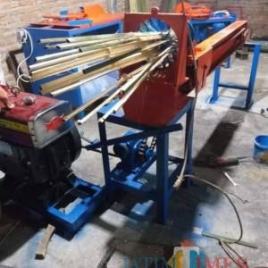 Harapan Suwarno, Pelaku Usaha Pembuat Mesin Pengrajin Bambu
