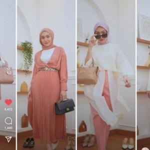 Fresh dan Stylish, Bergaya Pinky Vibes ala Influencer Tanah Air yang Bisa Dicontek Nih