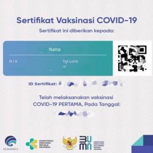 Sertifikat Vaksin Covid-19 Diusulkan jadi Syarat Dapatkan Bansos