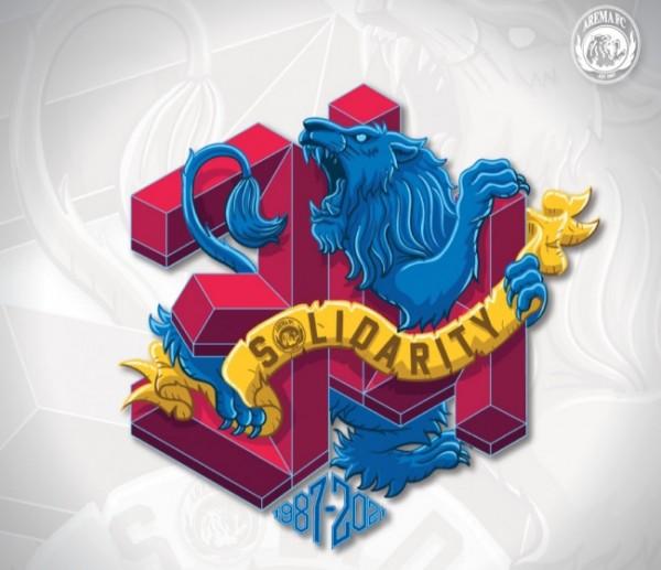 Tema logo hari jadi Arema di tahun 2021 (foto: Arema FC for MalangTIMES)