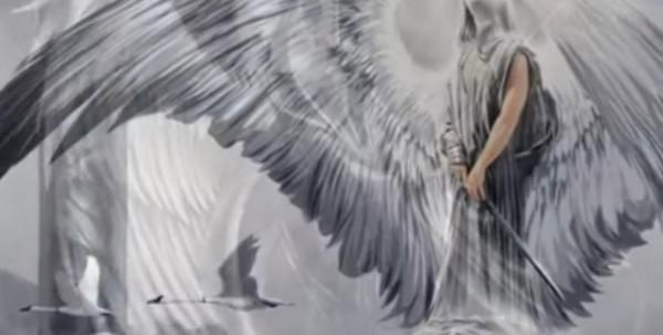 Ilustrasi malaikat yang dihukum Allah karena mengabaikan Rasulullah (Ist)