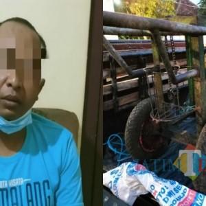 Nyolong Mesin Peras Tebu, Pria Asal Pasuruan Tertangkap Pemiliknya di Joho Kalidawir