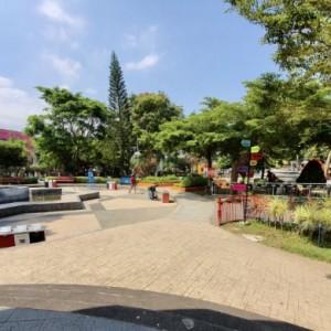 PPKM Darurat, Alun-alun Kota Batu Tetap Bersolek