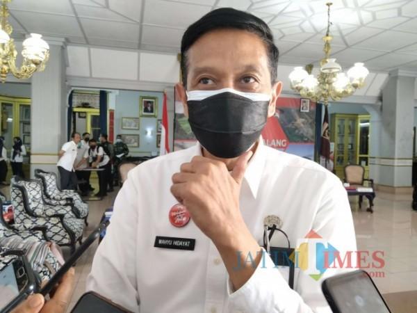 Sekda Kabupaten Malang, Wahyu Hidayat (Foto: Riski Wijaya/MalangTIMES).