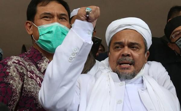 Habib Rizieq (Foto: GenPI.co)