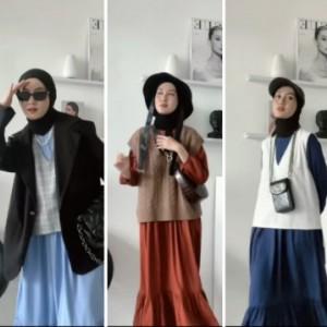 Cara Lain Buat Basic Dress Lebih Stylish, Intip Inspirasinya Yuk
