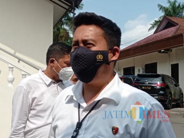 Kasat Reskrim Polres Malang, AKP Donny Bara'langi (foto: Hendra Saputra/MalangTIMES)
