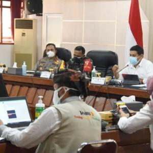 PPKM Level 4 Diperpanjang, Wali Kota Kediri Ajak Sinergi Semua Pihak Agar Turun Level