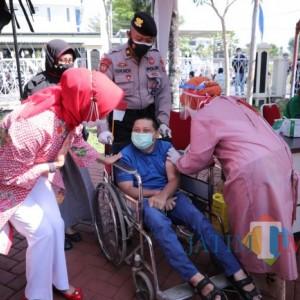 Perasaan Takut dan Kegembiraan Warnai Vaksinasi Covid-19 Disabilitas Kota Batu