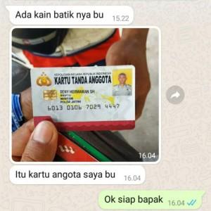 Ngaku Anggota Polda Jatim, Pengusaha Batik Tulis di Karangploso Hampir Tertipu