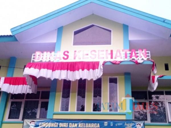 Kantor Dinas Kesehatan Kabupaten Malang (foto: Hendra Saputra/MalangTIMES)