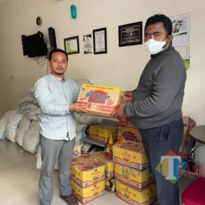 Dukung Program Rumah Ibadah Bergerak, Anggota DPR RI Sumbang 50 Paket Sembako