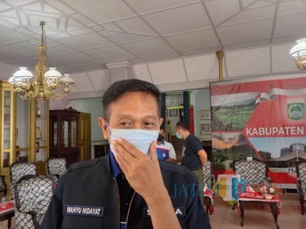 Sekda Kabupaten Malang Wahyu Hidayat.(foto: istimewa)