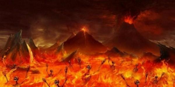 Ilustrasi siksa neraka (Ist)