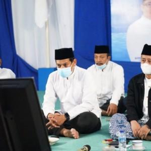 Demi Keselamatan Bangsa dari Pandemi Covid-19, PAN Kota Kediri Bersama Ketua NU Gelar Doa Bersama