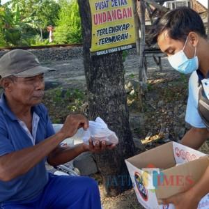 Berbagi di Tengah Pandemi, Pemuda di Lamongan Bentuk Komunitas Na-Bung
