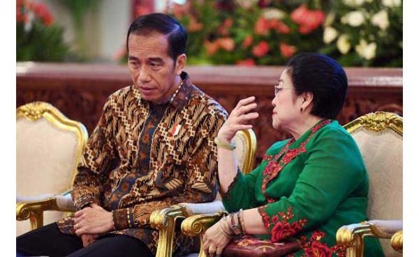 Jokowi dan Megawati (Foto: Bisnis.com)