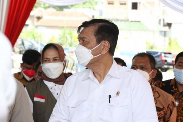 Menteri Koordinator Kemaritiman dan Investasi Luhut Binsar Panjaitan saat di YPPII Kota Batu. (Foto: istimewa)